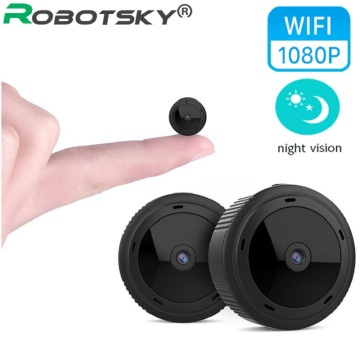 High Quality Wireless WiFi 1080P HD Mini Webcam Remote Real Time Security Monitoring Infrared Dark Night Vision Camera