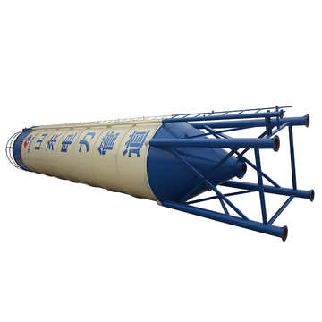 Portable cement silos construction for sale