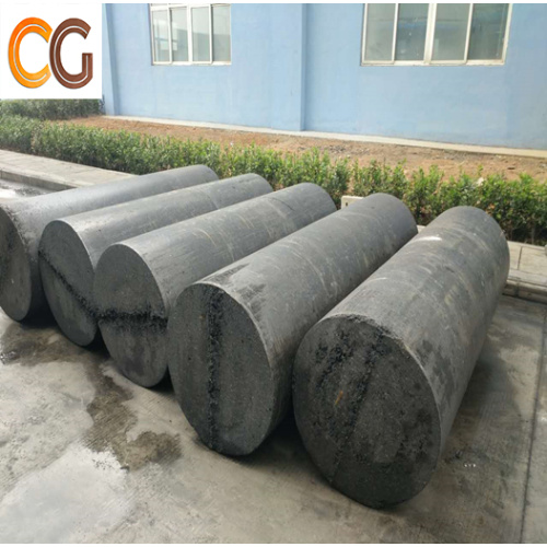 RP graphite electrodes for smelting electric furnace using