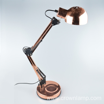 Vintage Adjustable Office Industrial Indoors Table Lamp