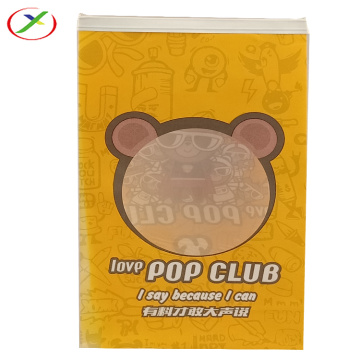 window paper bag accept design