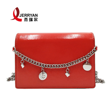 Pure Leather Handbags Clutch Bags for Ladies