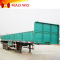 Tri-Axle Bulk Cargo Side Wall Semi Truck Trailer