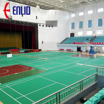 Enlio badminton court flooring mat with BWF