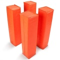 GIBBON Weighted Football Corner Pylons Orange