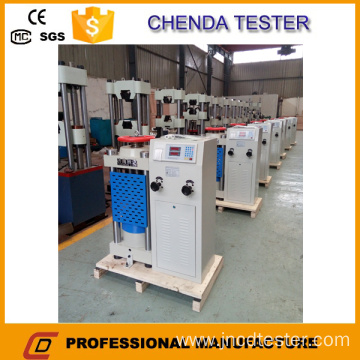 Digital Display Hydraulic Compression Testing Machine
