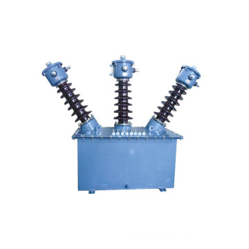 No leaching type high voltage metering box