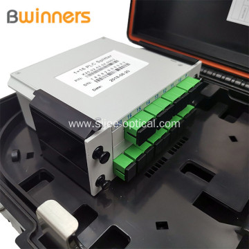 Abs Plastic 16 Core Small Ftth Access Fiber Optic Terminal Cabinet Fiber Optic Plc Splitter