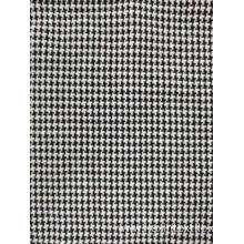 Classic check designs T/C double jacquard knit fabric