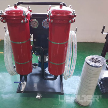 LYC-50B Industrial Oil Filtration Hydraulic Oil Filter Cart Rental