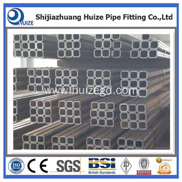 SS400 pre galvanized 75x75 tube square pipe