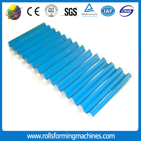 corrugated tile making machine 07