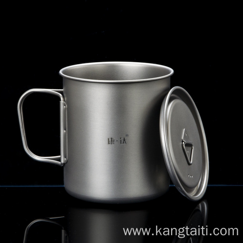 Antibacterial and Fresh-Keeping Titanium Cup