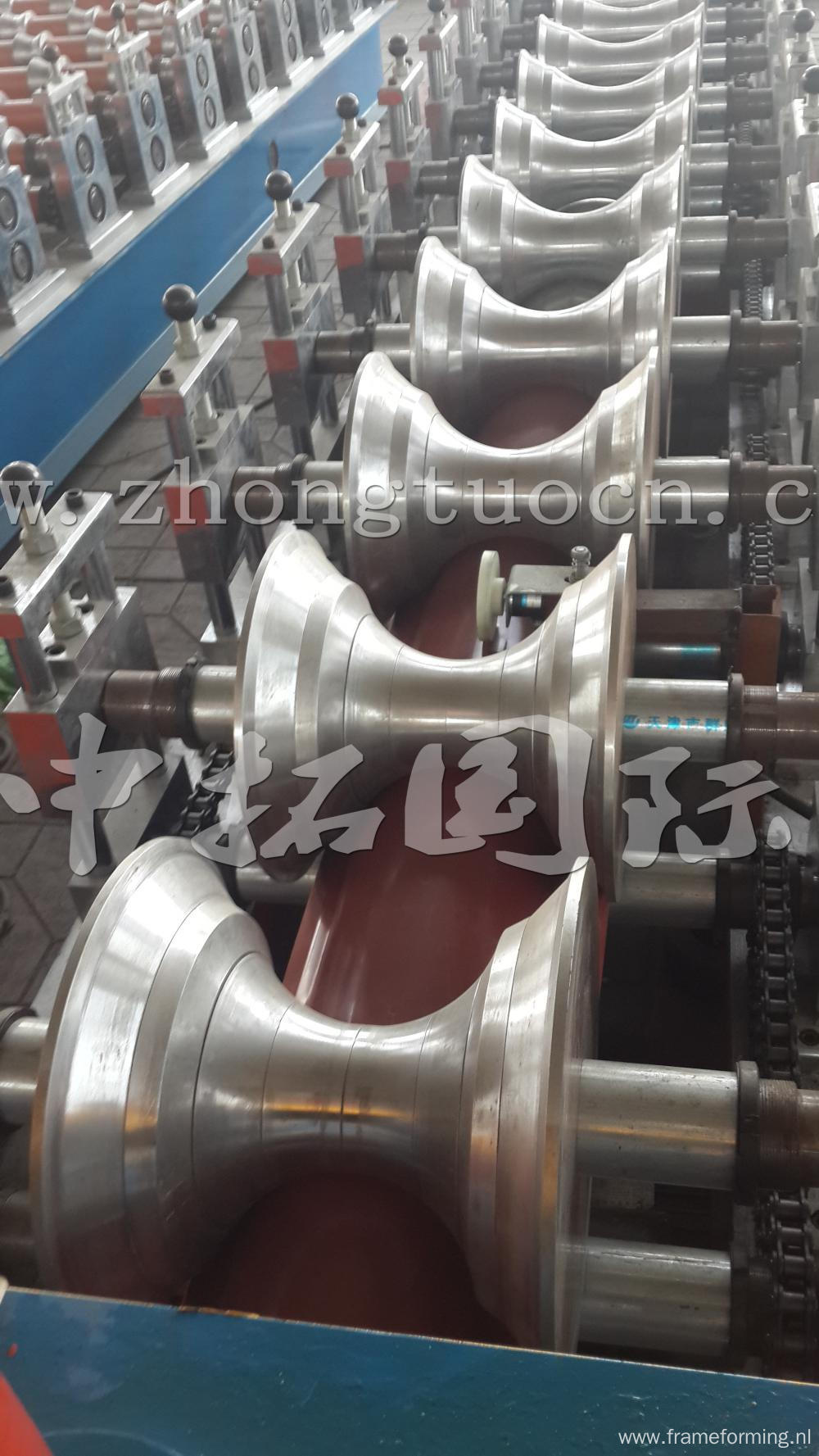 Colored Steel Profile Galvanized Cap Making Machine