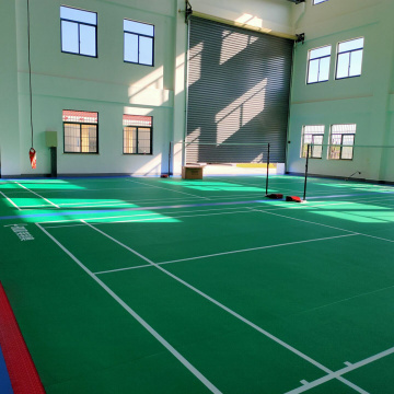 BWF approved Vinyl badminton floor
