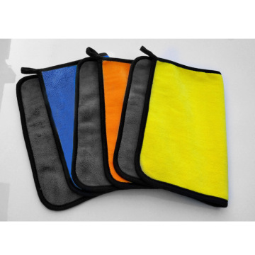 Custom size color car drying towel