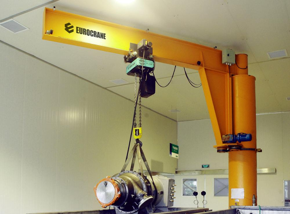 6T Pillar-mounted Jib Crane