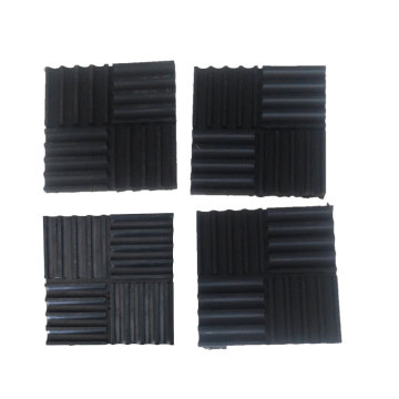 Anti-vibration Groove Rubber Pads