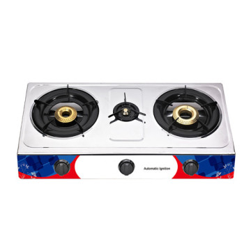 Butterfly 3 Burner Stove Stainless Steel