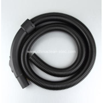 black and silver hose assembly