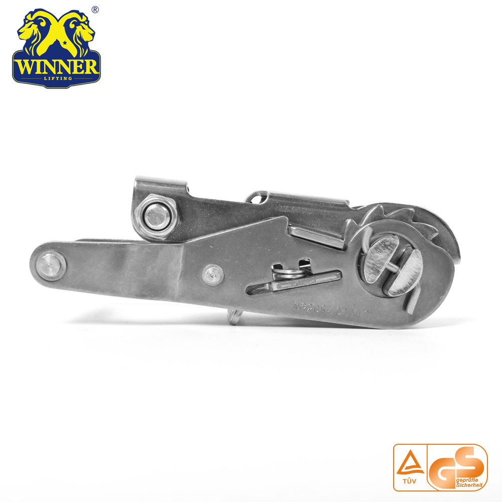 "1"" Stainless Wide Handle Ratchet Buckles Tie Down Buckle"