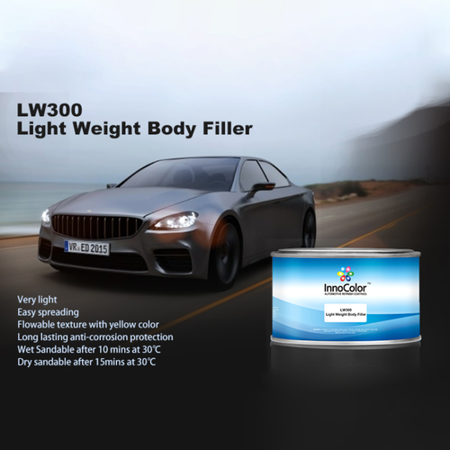 Easy Sanding Light Weight Body Filter