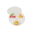 Fruit 6 Cavity Plastic Candy Tray Thermoformed Blister