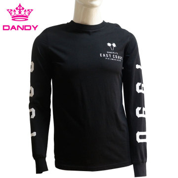 Black mens long sleeve shirts