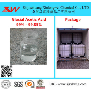 Glacial Acetic Acid 99%,99.5%,99.8% manufactory