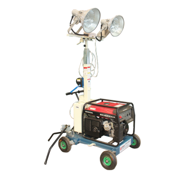 fire truck portable tower light generator