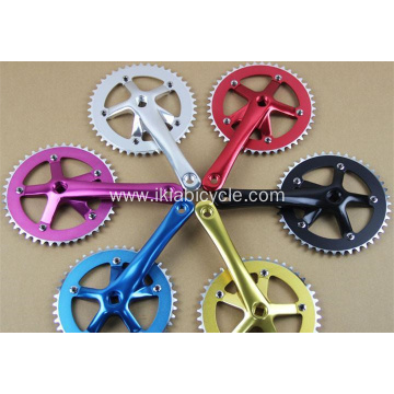 Track Bicycle Crankset Aluminum Alloy Bike Chainwheel