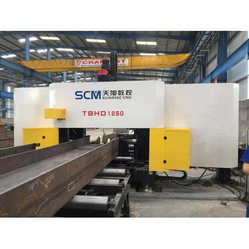 High Speed Channel Beam Drilling Machine