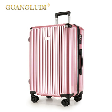 Hardside carry on large luggage set ABS PC