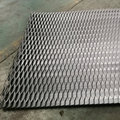 Expanded metal wire mesh aluminum/galvanized