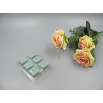 Scented Green Colored  Wax Block