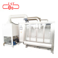 Automatic chocolate peanut coating polishing machine
