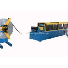 Wall angle roll forming machine