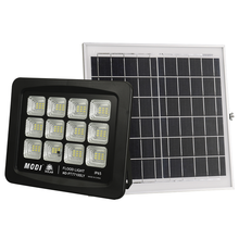 motion activated solar flood light