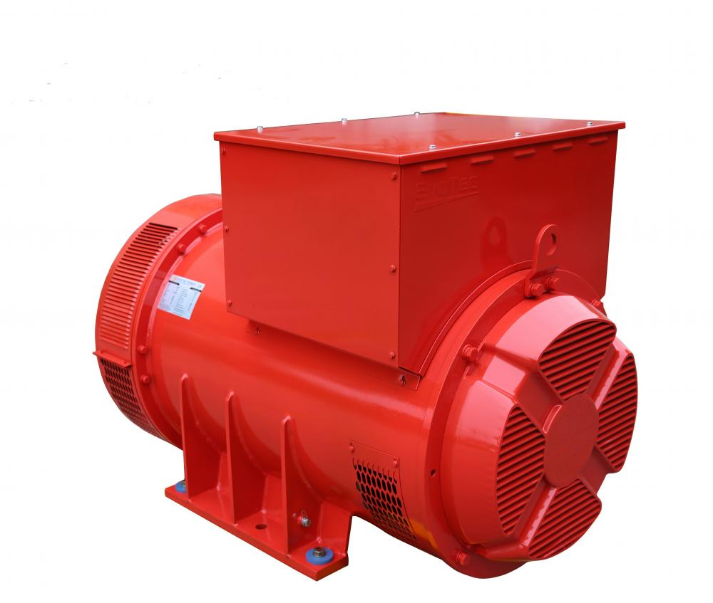 Red Color Synchronous Generator