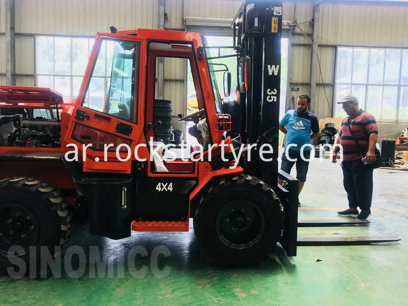 Rough Terrain Forklift W35