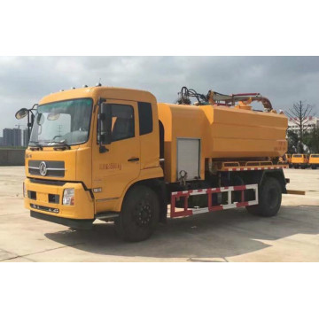 High Pressure Sewage Suction Sludge Vacuum Tanker Truck