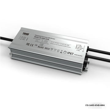 160W IP-nominel lineær armaturdriver
