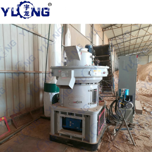 YULONG XGJ560 corn cob pellet machine
