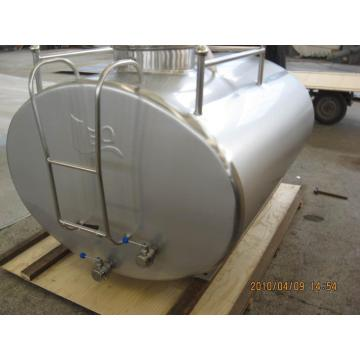 Food grade milk cooling tank