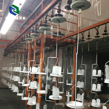 Efficient Customized Automatic Powder Coating Line with ISO9001
