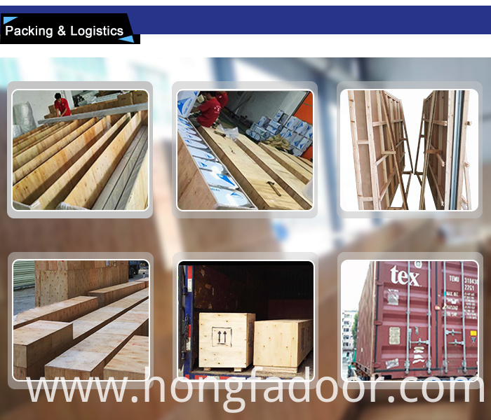 Packing for high speed roller shutter door