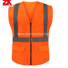 2018 new design hi- vis reflective safety waistcoat