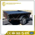 Tear Resistant Wind Protection PVC Tarpaulin Trailer Cover