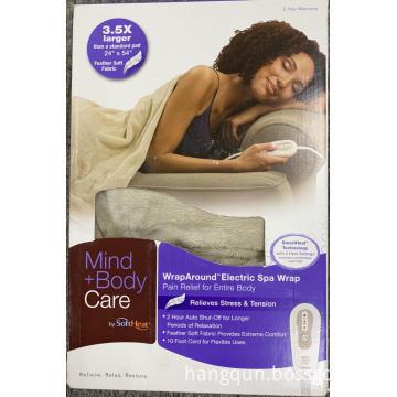 Medical heating pad , blanket, under blanket, heating wrap,heating throw,