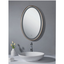 Rectangular LED bathroom mirror ME11